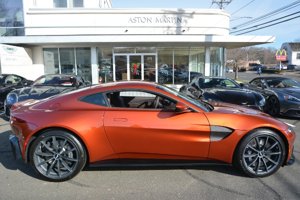 Used 2019 Aston Martin Vantage Coupe for sale Sold at Pagani of Greenwich in Greenwich CT 06830 22