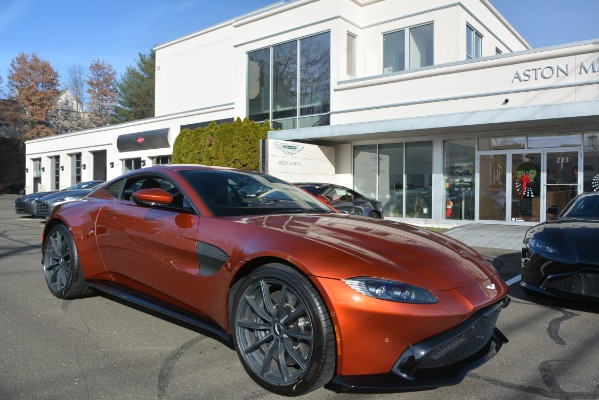 Used 2019 Aston Martin Vantage Coupe for sale Sold at Pagani of Greenwich in Greenwich CT 06830 23