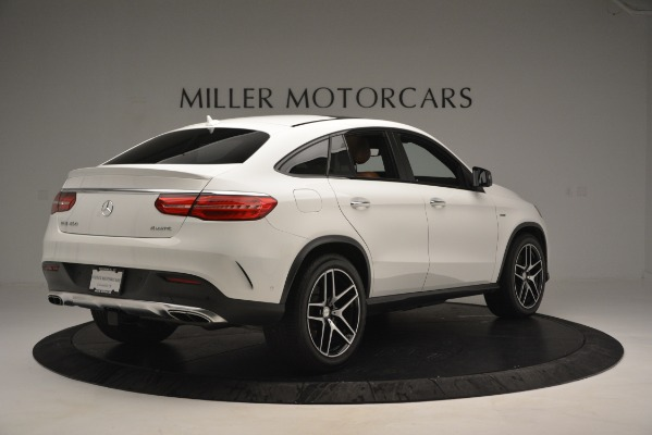 Used 2016 Mercedes-Benz GLE 450 AMG Coupe 4MATIC for sale Sold at Pagani of Greenwich in Greenwich CT 06830 8