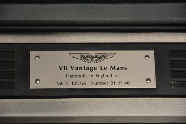 Used 1999 Aston Martin V8 Vantage Le Mans V600 Coupe for sale $550,000 at Pagani of Greenwich in Greenwich CT 06830 19