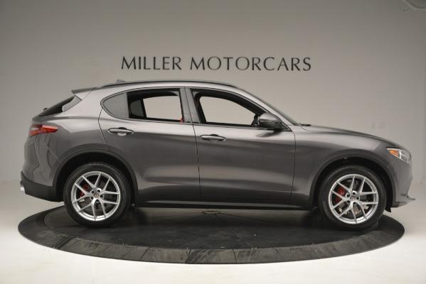 New 2019 Alfa Romeo Stelvio Sport Q4 for sale Sold at Pagani of Greenwich in Greenwich CT 06830 9