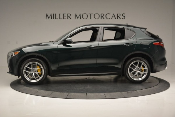 New 2019 Alfa Romeo Stelvio Sport Q4 for sale Sold at Pagani of Greenwich in Greenwich CT 06830 4