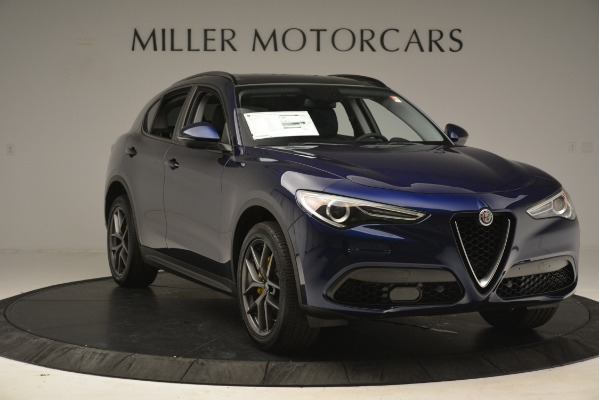 New 2019 Alfa Romeo Stelvio Sport Q4 for sale $49,940 at Pagani of Greenwich in Greenwich CT 06830 11