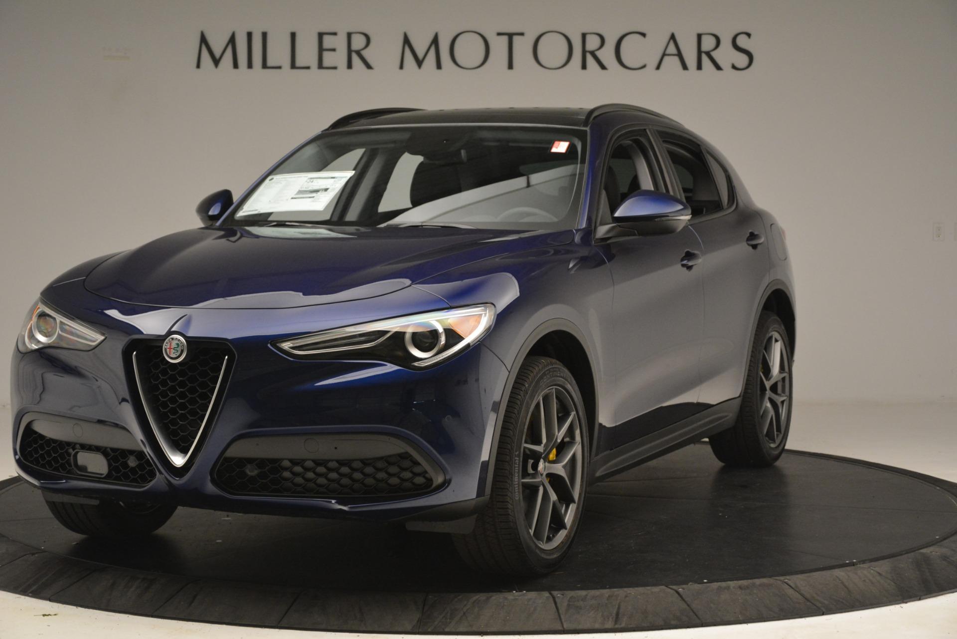 New 2019 Alfa Romeo Stelvio Sport Q4 for sale $49,940 at Pagani of Greenwich in Greenwich CT 06830 1