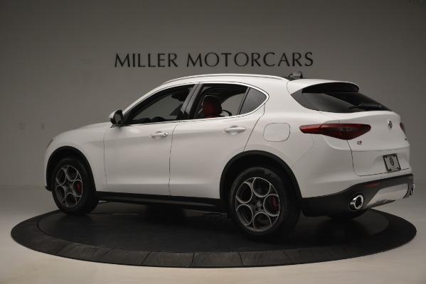 New 2019 Alfa Romeo Stelvio Q4 for sale Sold at Pagani of Greenwich in Greenwich CT 06830 4