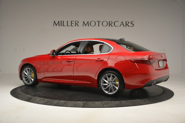 New 2019 Alfa Romeo Giulia Q4 for sale Sold at Pagani of Greenwich in Greenwich CT 06830 4