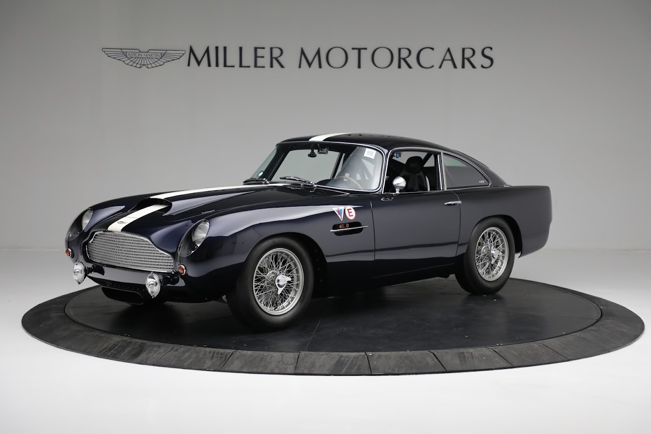 New 2018 Aston Martin DB4 GT Continuation Coupe for sale Call for price at Pagani of Greenwich in Greenwich CT 06830 1