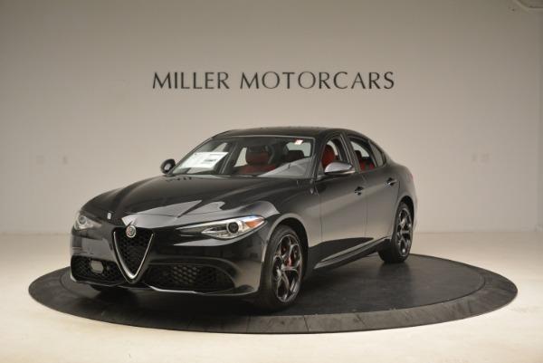 New 2019 Alfa Romeo Giulia Ti Sport Q4 for sale Sold at Pagani of Greenwich in Greenwich CT 06830 1