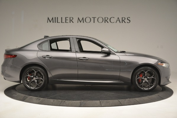 New 2019 Alfa Romeo Giulia Ti Sport Q4 for sale Sold at Pagani of Greenwich in Greenwich CT 06830 9