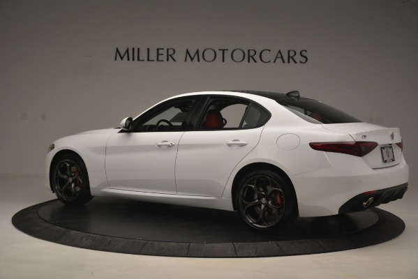New 2019 Alfa Romeo Giulia Ti Sport Q4 for sale Sold at Pagani of Greenwich in Greenwich CT 06830 4