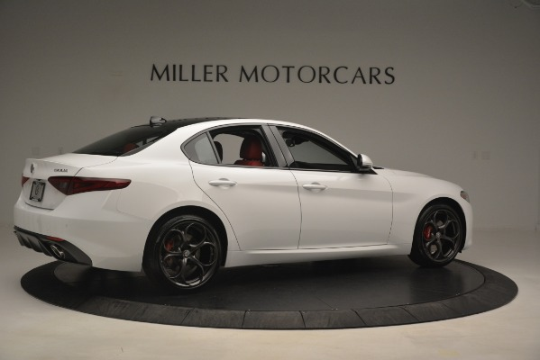 New 2019 Alfa Romeo Giulia Ti Sport Q4 for sale Sold at Pagani of Greenwich in Greenwich CT 06830 8