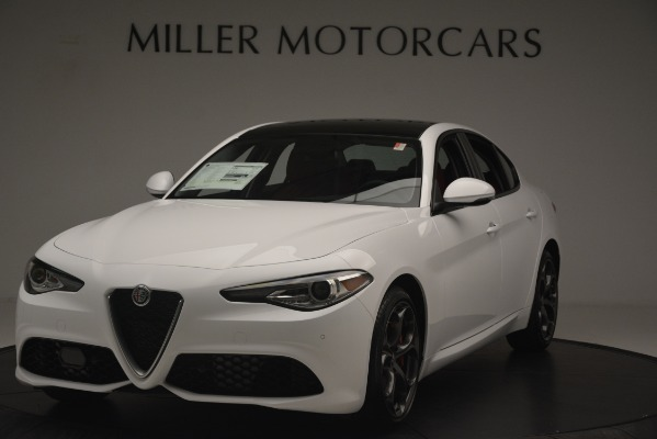 New 2019 Alfa Romeo Giulia Ti Sport Q4 for sale Sold at Pagani of Greenwich in Greenwich CT 06830 1