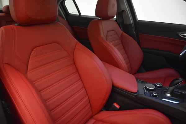 New 2019 Alfa Romeo Giulia Ti Sport Q4 for sale Sold at Pagani of Greenwich in Greenwich CT 06830 21