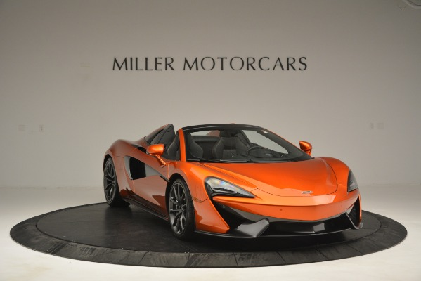 New 2019 McLaren 570S Spider Convertible for sale Sold at Pagani of Greenwich in Greenwich CT 06830 11