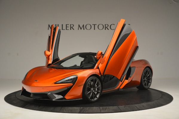 New 2019 McLaren 570S Spider Convertible for sale Sold at Pagani of Greenwich in Greenwich CT 06830 13