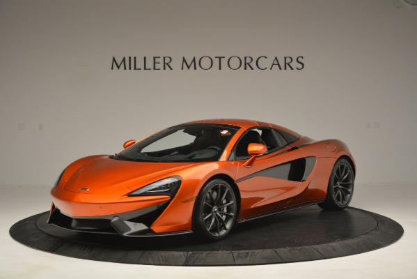New 2019 McLaren 570S Spider Convertible for sale Sold at Pagani of Greenwich in Greenwich CT 06830 14