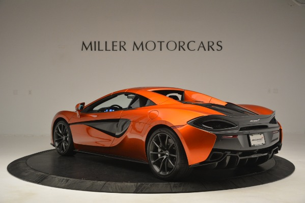 New 2019 McLaren 570S Spider Convertible for sale Sold at Pagani of Greenwich in Greenwich CT 06830 17