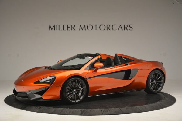 New 2019 McLaren 570S Spider Convertible for sale Sold at Pagani of Greenwich in Greenwich CT 06830 2