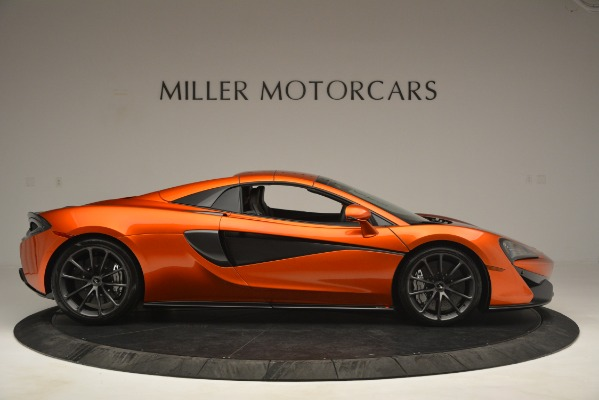 New 2019 McLaren 570S Spider Convertible for sale Sold at Pagani of Greenwich in Greenwich CT 06830 20
