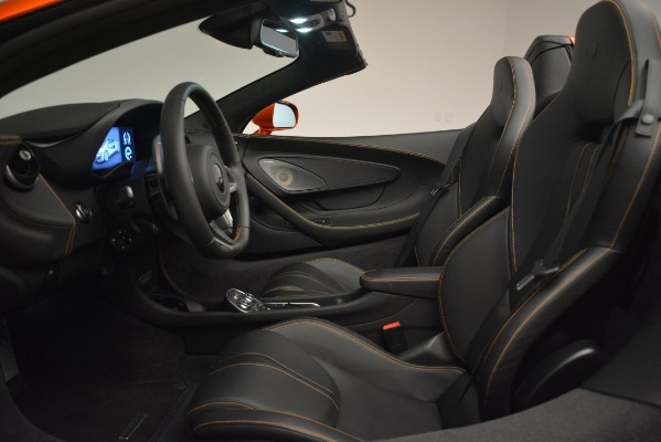 New 2019 McLaren 570S Spider Convertible for sale Sold at Pagani of Greenwich in Greenwich CT 06830 24