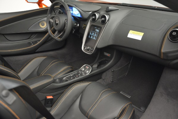 New 2019 McLaren 570S Spider Convertible for sale Sold at Pagani of Greenwich in Greenwich CT 06830 26