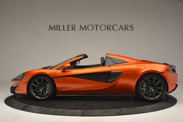 New 2019 McLaren 570S Spider Convertible for sale Sold at Pagani of Greenwich in Greenwich CT 06830 3