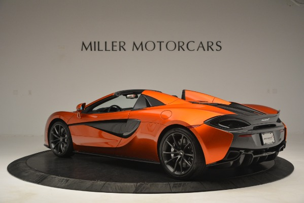 New 2019 McLaren 570S Spider Convertible for sale Sold at Pagani of Greenwich in Greenwich CT 06830 4