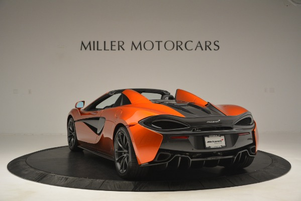 New 2019 McLaren 570S Spider Convertible for sale Sold at Pagani of Greenwich in Greenwich CT 06830 5
