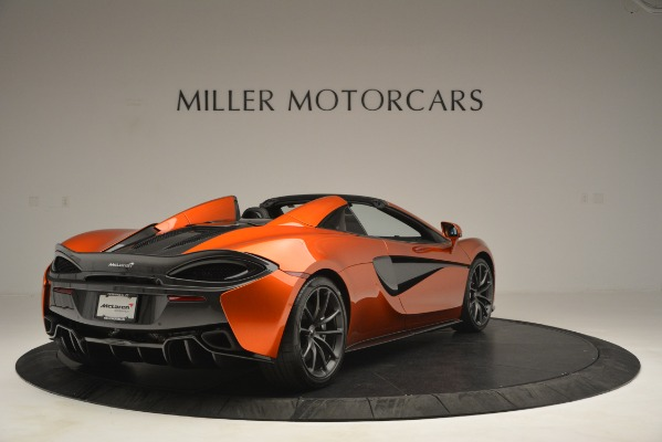 New 2019 McLaren 570S Spider Convertible for sale Sold at Pagani of Greenwich in Greenwich CT 06830 7