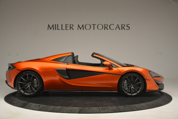 New 2019 McLaren 570S Spider Convertible for sale Sold at Pagani of Greenwich in Greenwich CT 06830 9