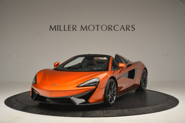 New 2019 McLaren 570S Spider Convertible for sale Sold at Pagani of Greenwich in Greenwich CT 06830 1