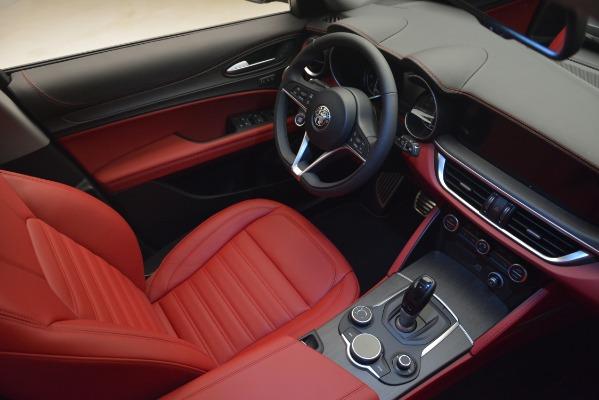 New 2019 Alfa Romeo Stelvio Ti Lusso Q4 for sale Sold at Pagani of Greenwich in Greenwich CT 06830 15