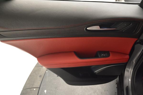 New 2019 Alfa Romeo Stelvio Ti Lusso Q4 for sale Sold at Pagani of Greenwich in Greenwich CT 06830 19