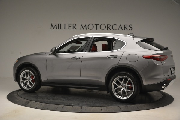New 2019 Alfa Romeo Stelvio Ti Lusso Q4 for sale Sold at Pagani of Greenwich in Greenwich CT 06830 4