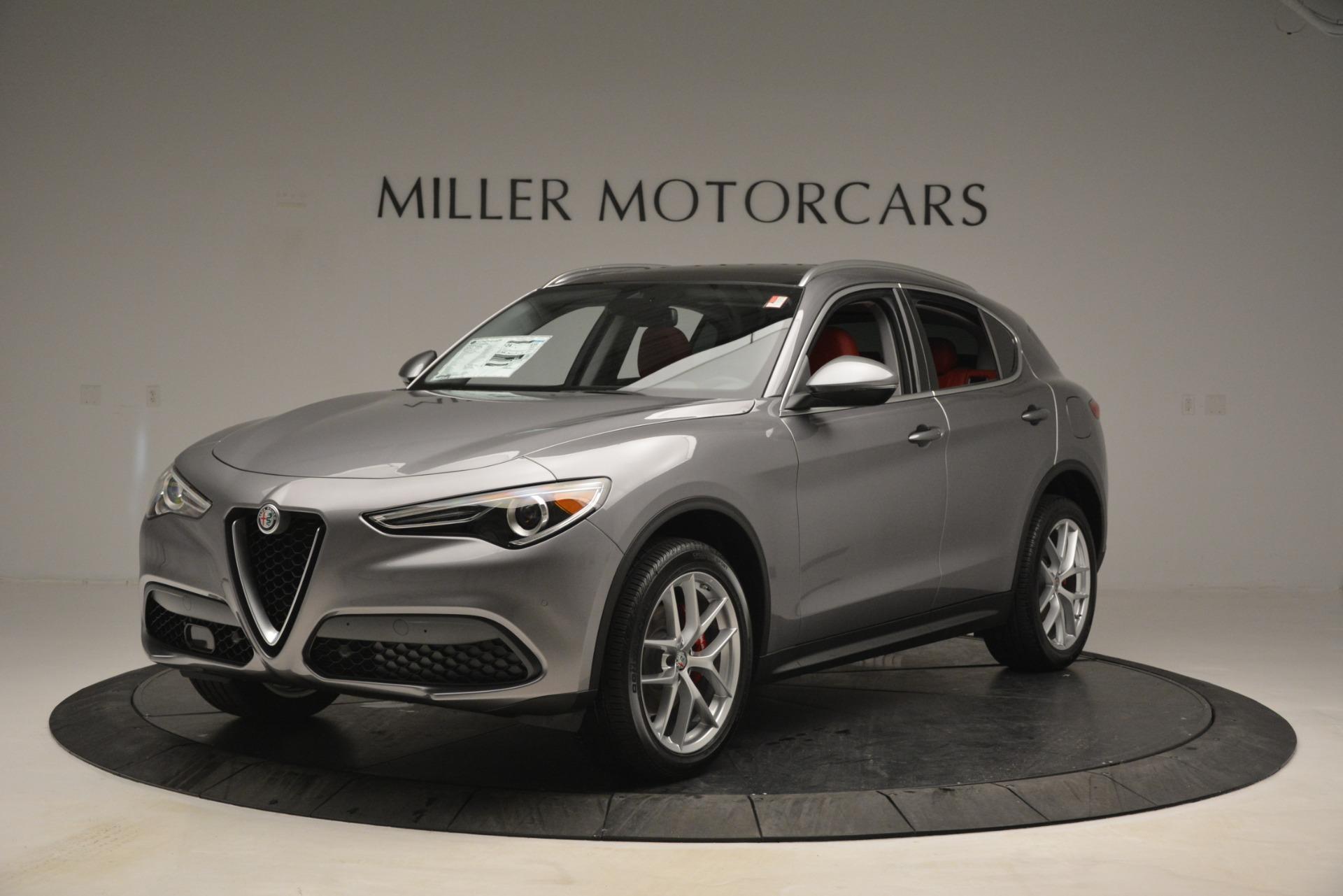 New 2019 Alfa Romeo Stelvio Ti Lusso Q4 for sale Sold at Pagani of Greenwich in Greenwich CT 06830 1