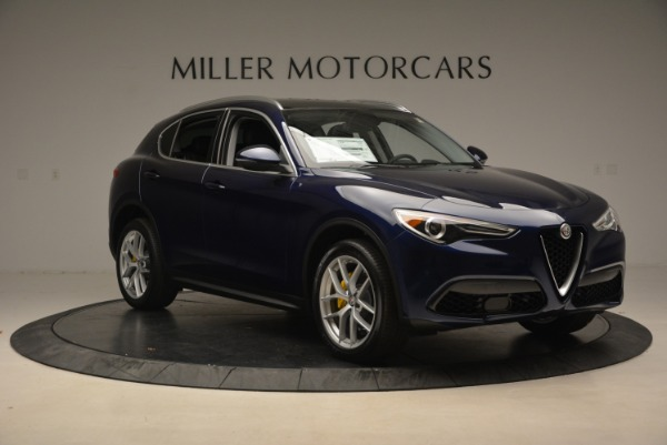 New 2019 Alfa Romeo Stelvio Ti Q4 for sale Sold at Pagani of Greenwich in Greenwich CT 06830 11