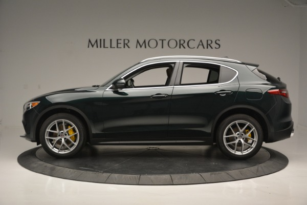 New 2019 Alfa Romeo Stelvio Ti Q4 for sale Sold at Pagani of Greenwich in Greenwich CT 06830 3
