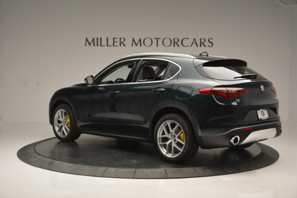 New 2019 Alfa Romeo Stelvio Ti Q4 for sale Sold at Pagani of Greenwich in Greenwich CT 06830 4