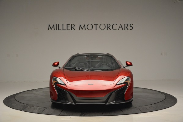 Used 2015 McLaren 650S Spider for sale Sold at Pagani of Greenwich in Greenwich CT 06830 12