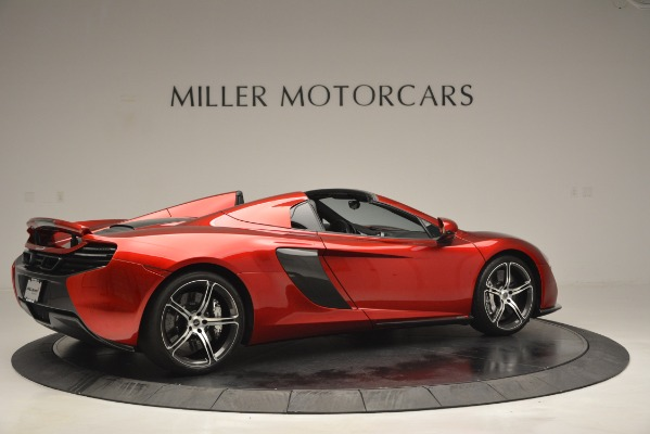Used 2015 McLaren 650S Spider for sale Sold at Pagani of Greenwich in Greenwich CT 06830 8