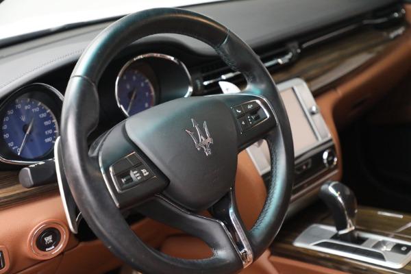 Used 2015 Maserati Quattroporte S Q4 for sale Call for price at Pagani of Greenwich in Greenwich CT 06830 23