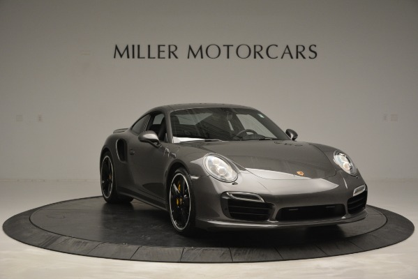 Used 2015 Porsche 911 Turbo S for sale Sold at Pagani of Greenwich in Greenwich CT 06830 11