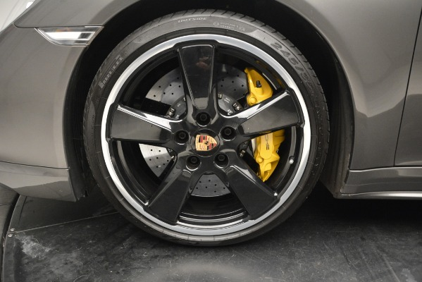Used 2015 Porsche 911 Turbo S for sale Sold at Pagani of Greenwich in Greenwich CT 06830 13