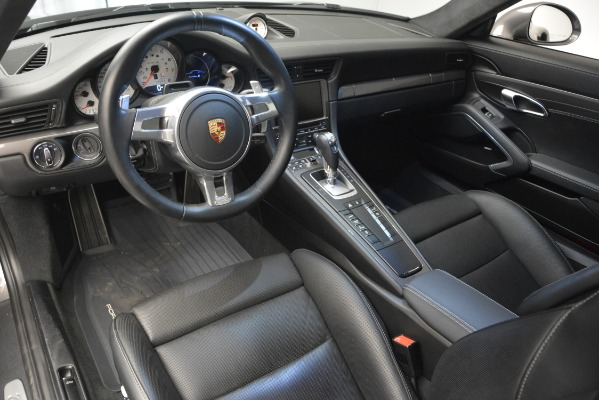 Used 2015 Porsche 911 Turbo S for sale Sold at Pagani of Greenwich in Greenwich CT 06830 14