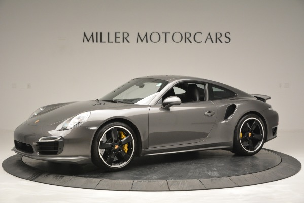 Used 2015 Porsche 911 Turbo S for sale Sold at Pagani of Greenwich in Greenwich CT 06830 2