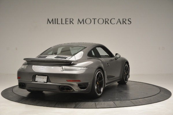 Used 2015 Porsche 911 Turbo S for sale Sold at Pagani of Greenwich in Greenwich CT 06830 7