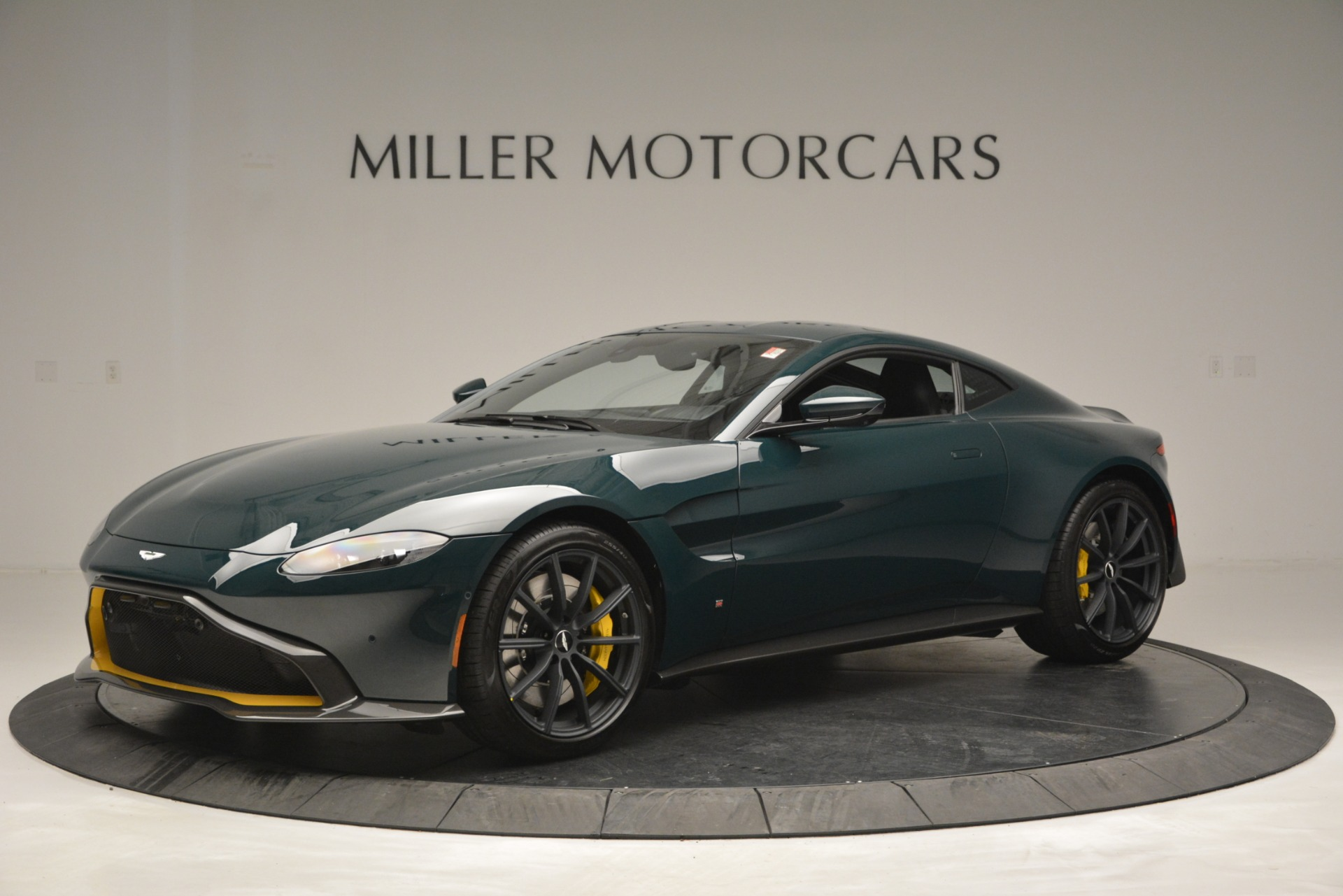 Used 2019 Aston Martin Vantage Coupe for sale Sold at Pagani of Greenwich in Greenwich CT 06830 1