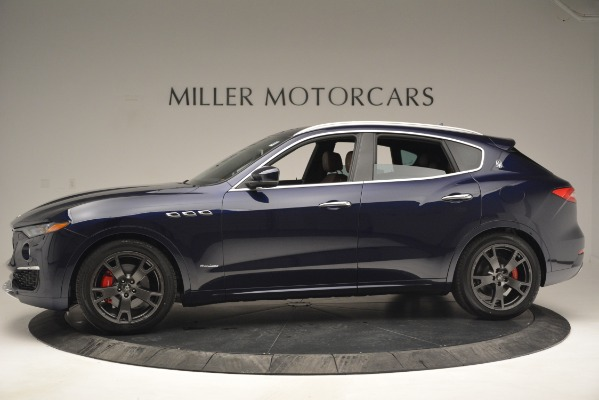 New 2019 Maserati Levante Q4 GranLusso for sale Sold at Pagani of Greenwich in Greenwich CT 06830 3