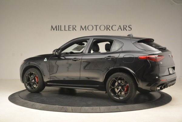 New 2019 Alfa Romeo Stelvio Quadrifoglio for sale Sold at Pagani of Greenwich in Greenwich CT 06830 4