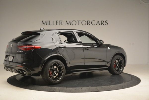 New 2019 Alfa Romeo Stelvio Quadrifoglio for sale Sold at Pagani of Greenwich in Greenwich CT 06830 8